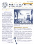 Volume 3 Number 2 by Archives and Records Management, Syracuse University