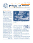 Volume 4 Number 2 by Archives and Records Management, Syracuse University