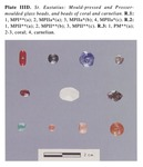 Plate IIID - The Beads of St. Eustatius, Netherlands Antilles