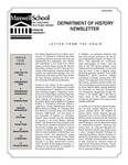 Department of History Newsletter Summer 2011 by Department of History