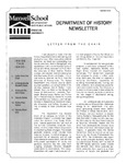 Department of History Newsletter Summer 2010 by Department of History