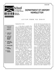 Department of History Newsletter Summer 2009 by Department of History