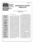 Department of History Newsletter Summer 2008