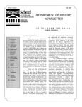 Department of History Newsletter-Fall 2007 by Department of History