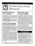 Outreach Bulletin 1994 by The South Asia Center