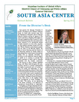Outreach Bulletin 2012 by The South Asia Center