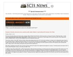 SCIS News 10/19/2012 Special Announcement