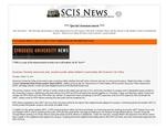 SCIS News 10/19/2012 Special Announcement
