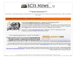 SCIS News 10/29/2012 Special Announcement