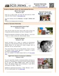 SCIS News 2/1/2013 by Slutzker Center for International Services