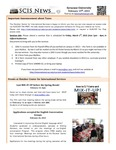 SCIS News 2/15/2013 by Slutzker Center for International Services