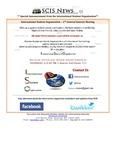 SCIS News 2/27/2013  Special Announcement