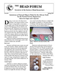 Issue 66, Spring 2015 by Society of Bead Researchers