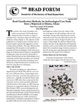 Issue 61, Autumn 2012 by Society of Bead Researchers